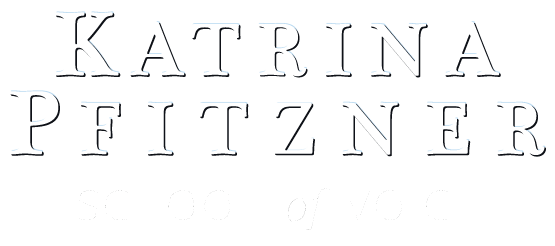 Katrina Pfitzner School of Voice